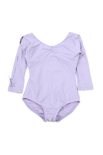 Body violet MIRELLA pour fille