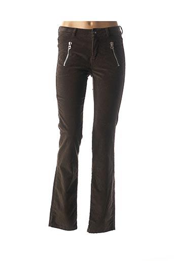 Pantalon casual marron COP COPINE pour femme