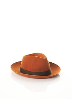 Chapeau marron BCAT pour homme