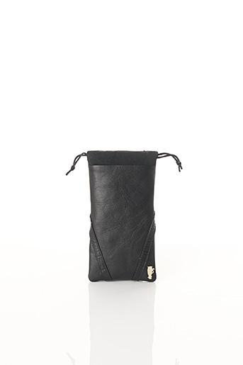 Pochette noir BCAT pour femme