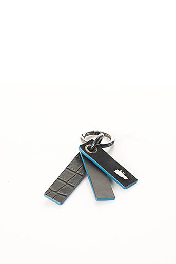 Porte-clé noir BCAT pour homme