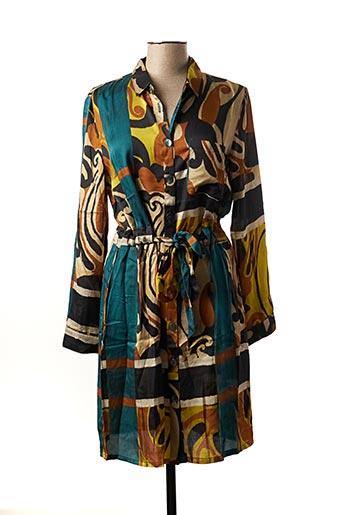 Robe mi-longue beige NINATI pour femme