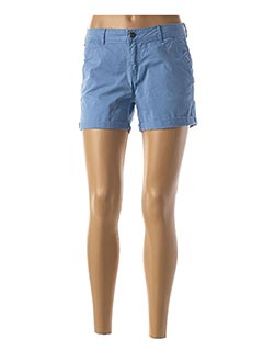 Short bleu BLEND SHE pour femme
