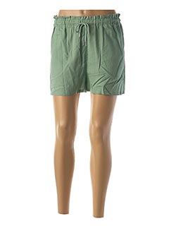 Short vert BLEND SHE pour femme