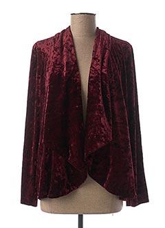 Veste casual rouge EMA BLUE'S pour femme
