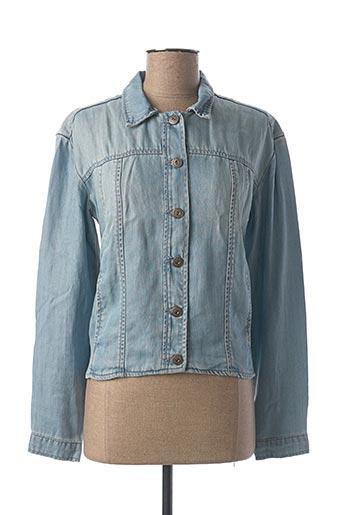 Veste en jean bleu YAYA pour femme