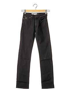 Jeans coupe droite noir APRIL 77 pour femme