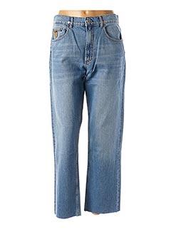 Jeans coupe large bleu APRIL 77 pour femme