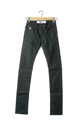 Jeans coupe slim vert APRIL 77 pour femme