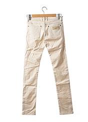 Pantalon casual beige APRIL 77 pour femme seconde vue