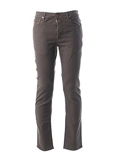 Pantalon casual gris APRIL 77 pour homme