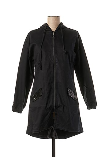 Veste casual noir CAPTAIN TORTUE pour femme