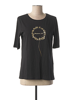 T-shirt manches longues noir 1 2 3 pour femme
