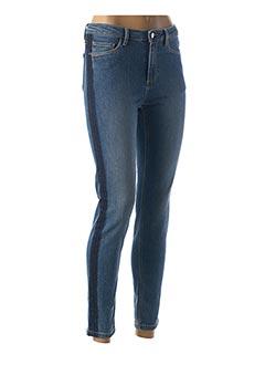 Jeans coupe slim bleu 1 2 3 pour femme
