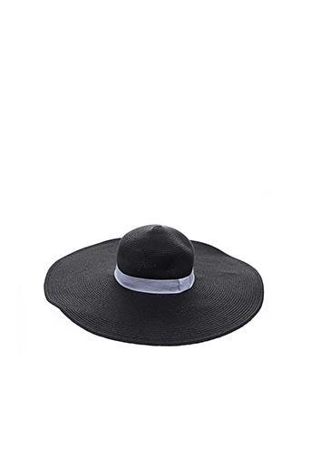 Chapeau noir MAISON 123 pour femme