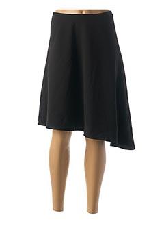 Jupe mi-longue noir 1 2 3 pour femme