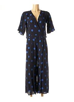 Combi-pantalon bleu 1 2 3 pour femme