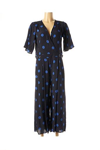 Combi-pantalon bleu MAISON 123 pour femme