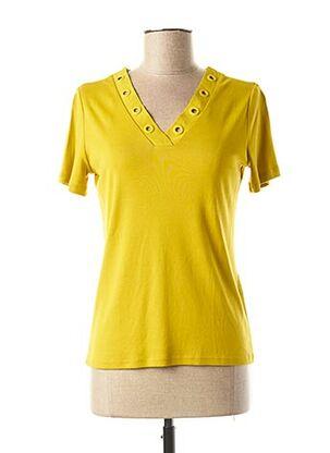 T-shirt manches courtes vert MAISON 123 pour femme