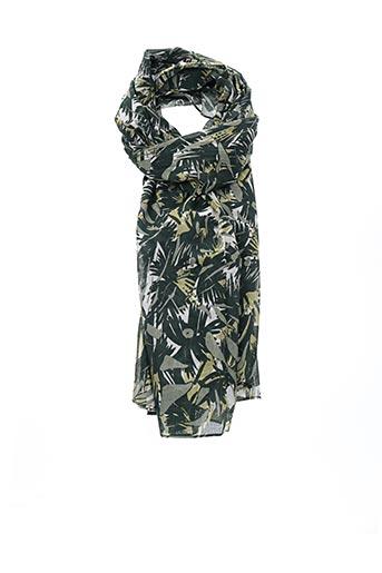 Foulard vert 1 2 3 pour femme