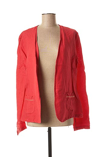 Veste casual rouge PAKO LITTO pour femme