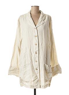 Veste casual beige NOOK pour femme
