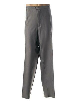 Pantalon casual gris HAROLD pour homme