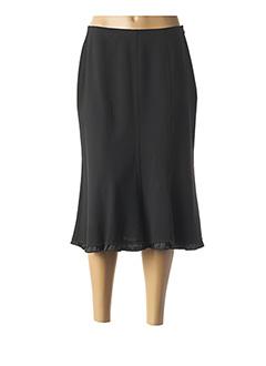 Jupe mi-longue noir ROSA ROSAM pour femme