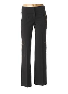 Pantalon chic noir LA FEE MARABOUTEE pour femme