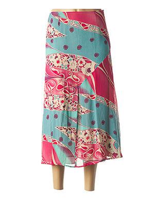 Jupe longue rose BLUS&BLUS pour femme