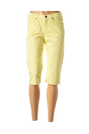 Corsaire jaune LCDN pour femme