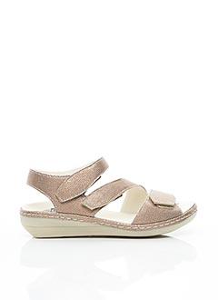 Sandales/Nu pieds rose BRAKO pour femme