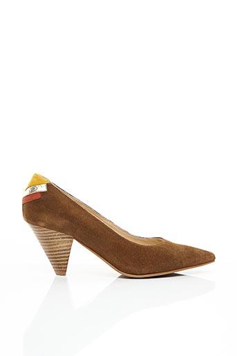 Escarpins marron CARDENAL pour femme