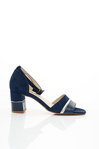 Sandales/Nu pieds bleu CARDENAL pour femme