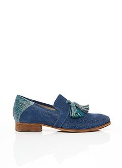 Mocassins bleu CASTA pour femme