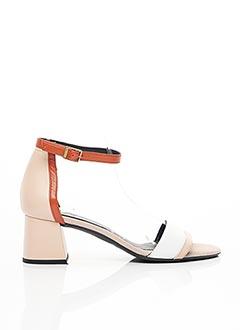 Sandales/Nu pieds rose GADEA pour femme