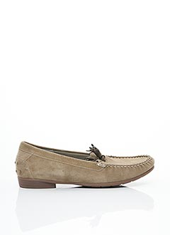 Chaussures bâteau beige ARA pour femme