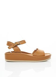 Sandales/Nu pieds marron MINKA DESIGN pour femme