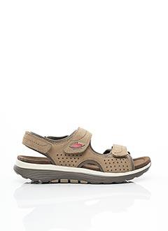 Sandales/Nu pieds marron GABOR pour homme