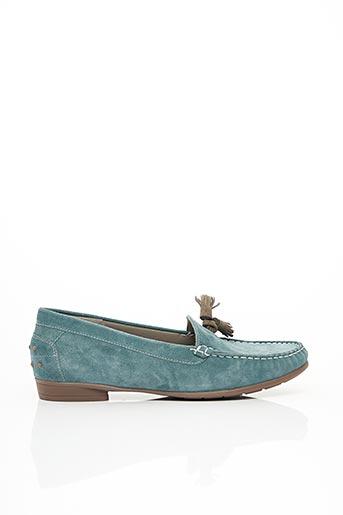 Chaussures bâteau bleu ARA pour femme
