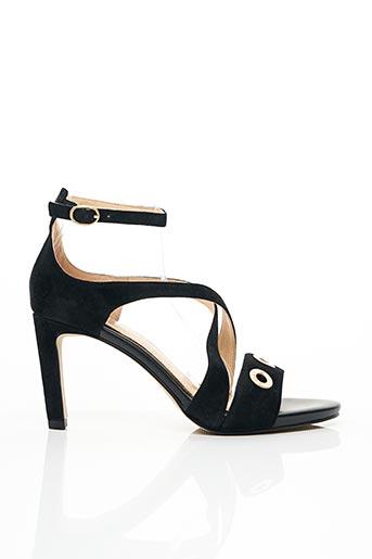 Sandales/Nu pieds noir FUGITIVE pour femme