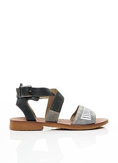 Sandales/Nu pieds noir CASTA pour femme