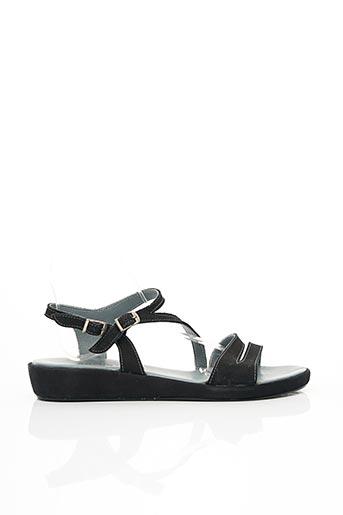 Sandales/Nu pieds noir ARCUS pour femme