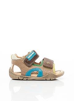 Sandales/Nu pieds marron BELLAMY pour garçon