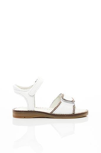 Sandales/Nu pieds blanc INTREPIDES PAR BABYBOTTE pour fille