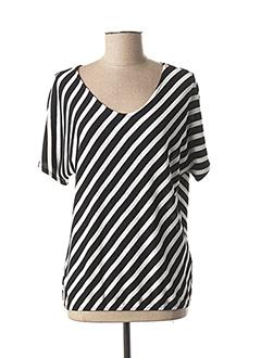 T-shirt manches longues noir STREET ONE pour femme
