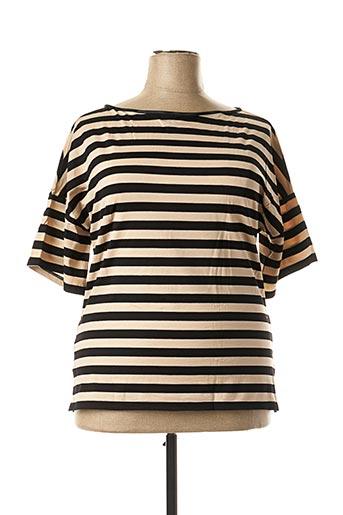 T-shirt manches courtes noir ARTIMAGLIA pour femme