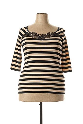 T-shirt manches longues noir ARTIMAGLIA pour femme