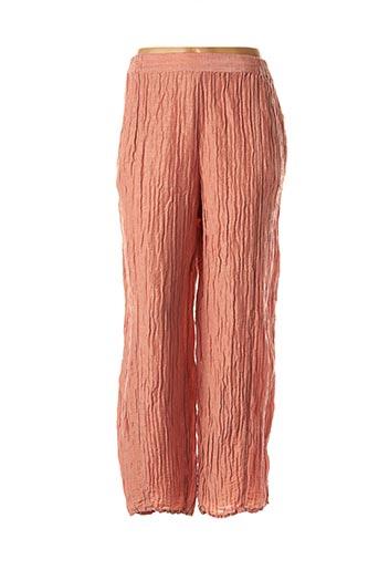 Pantalon casual rose GRIZAS pour femme