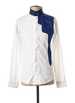 Chemise manches longues blanc HIMSPIRE pour homme